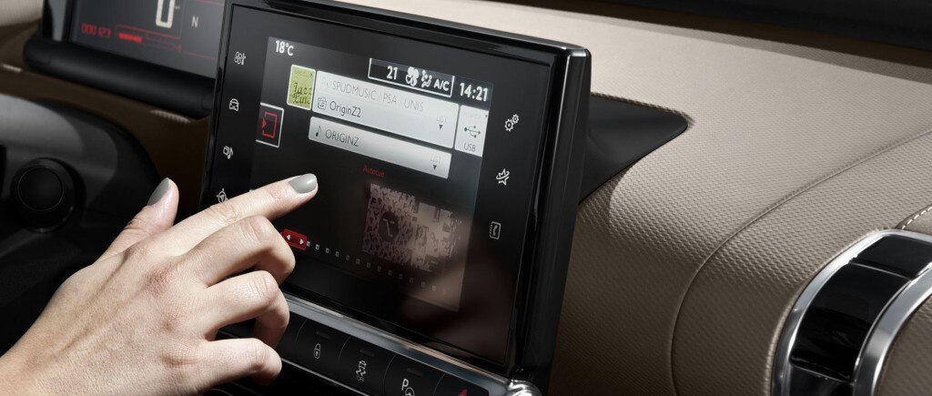 7'' Touch Drive Interface