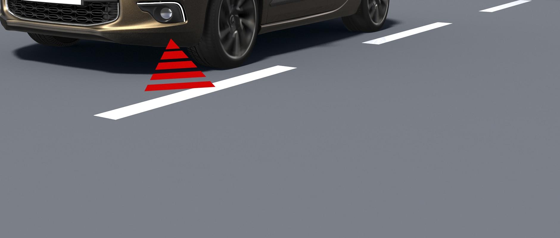 New DS 5 - détails - Safety Technology